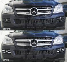 mercedes gl accessories mercedes gl class x164 cold air intake chrome accessories trim