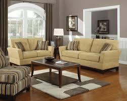 furnishing a small living room single sofa beige wood wall shelves