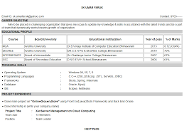 How To Set Up A Resume How To Create A Resume In Html Format Studywithdemo