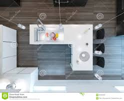 modern kitchen bars top view modern kitchen bar stock illustration image 56429209
