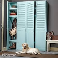 how to build mudroom lockers family handyman