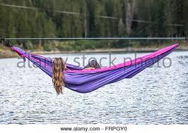 rainbow hammock stock photo royalty free image 100685370 alamy