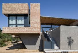 brick house architectural home design brick house by mariano molina