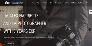 15 2016 free photography website themes u0026 templates free