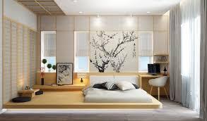 japanese bedroom design dark brown six drawers dresser cabinet