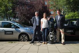 electric cars uber turns on electric vehicles in the uk starting with 50 cars