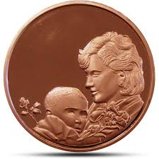 Engravable Baby Gifts Engraved Baby Gift Coin Free Engraving Large Copper Coin