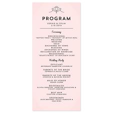 Sample Of Wedding Programs Wording For Wedding Programs Samples Finding Wedding Ideas