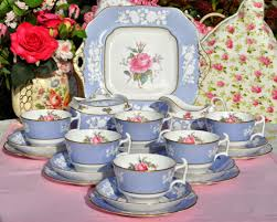 spode maritime spode copeland maritime 21 bone china tea set c 1950 s
