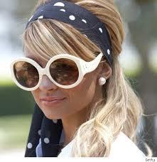 cool headbands headbands are still hot big sunglasses richie and scarves