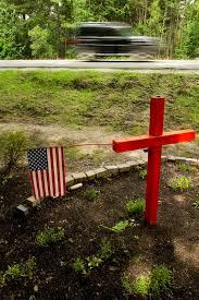 roadside memorial crosses scarborough aims to regulate roadside memorials portland press