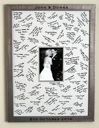 wedding autograph frame 9 best frame vs guestbook images on wedding ideas