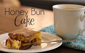 cake top honey bun cake needs chocolate