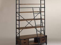 24 Ladder Bookshelf Plans Guide by 40 Ladder Bookshelf Merill 5 Tier Ladder Corner Shelf White