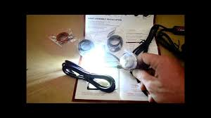 led strobe light kit str 242 led strobe light kit review cop car style youtube