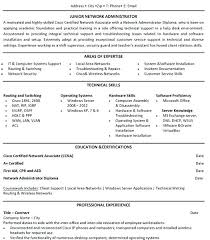 Computer Hardware And Networking Resume Samples Sample Resume For Ccna Certified Download Junior Network Engineer