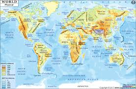 The World Map List Of Countries The World Continents Map With At Maps Com