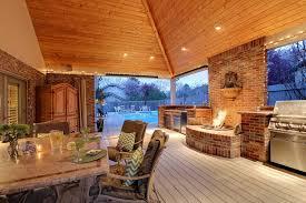 Outdoor Entertainment Center - backyard entertainment ideas outdoor entertainment with a
