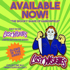 scooby doo u0027lost mysteries u0027 michael myers pin now available