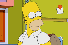 homer homer simpson will answer questions live on the simpsons yes you
