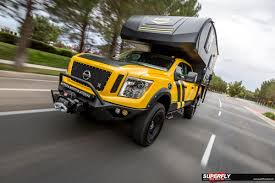 titan nissan 2016 2016 nissan titan xd overland camping rig by hellwig superfly autos
