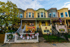 christmas in hampden 34th street editorial image image 12330630