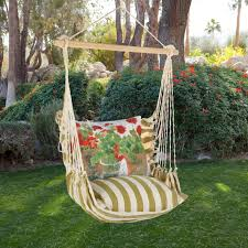 magnolia casual geranium hammock chair u0026 pillow set hayneedle
