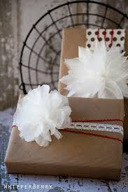 Tissue Paper Gift Wrap - 19 diy wrapped gift box and bag tutorials tip junkie