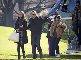 obama family return from vacation