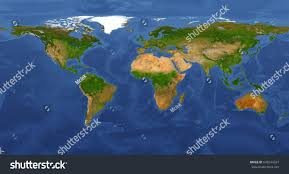 World Map Large by Extra Large Big Map Highest Detail Stock Illustration 636544337