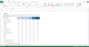 Excel Business Template by Business Plan Template Excel Thebridgesummit Co