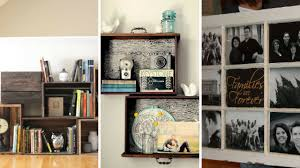 home decor from recycled materials 5 diy home decor ideas from recycled materials youtube