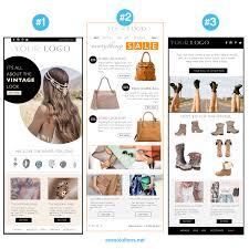 email newsletter psd html template custom e commerce