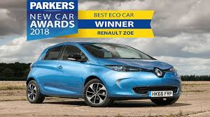 renault zoe 2018 renault zoe best eco car parkers awards youtube
