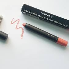Makeup Mac ridzi makeup m a c velvetease lip pencil in frolic review swatch