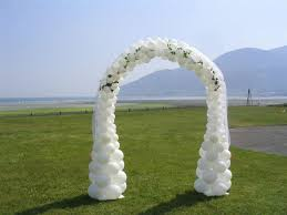 wedding arch northern ireland wedding gallery luce balloons
