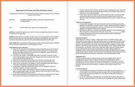 4 business purchase and sale agreement template purchase