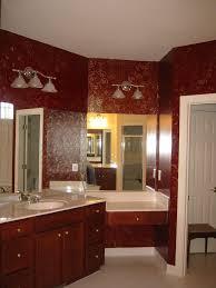 pink and gold bathroom decor vessel sink vanity shelves installed