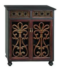 regal and classic style metal wood 3 panel screen home accent d