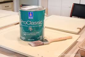 High Gloss Or Semi Gloss For Kitchen Cabinets Tips And Tricks For Painting Kitchen Cabinets How To Nest For Less