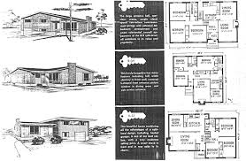 1950s Bungalow Floor Plan Mid Century Modern And 1970s Era Ottawa Campeau In The Late 1950s