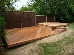 wood deck designs balau hardwood decking brighton hove sussex