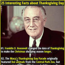 25 interesting facts about thanksgiving day nfl thanksgiving