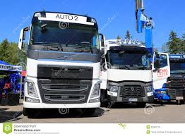 renault trucks t renault trucks t avatar on power truck show editorial stock photo