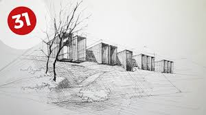 drawing rural house daily architecture sketches 31 youtube