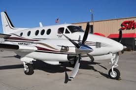 first customer installation and flight of raisbeck king air c90