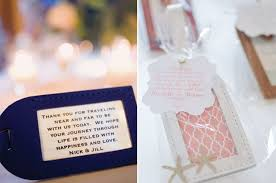 wedding favor luggage tags top 5 destination wedding favors your guests will bridalpulse