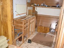 Rebuilding Kitchen Cabinets by Rebuild Travel Trailer Continued