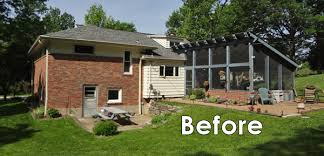 2 Car Detached Garage Before U0026 After Converting A Garage Into A Family Room Mosby