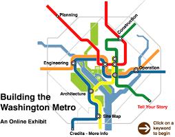 washington subway map intro gif